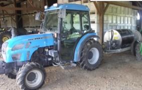 Tractor&blast applicator