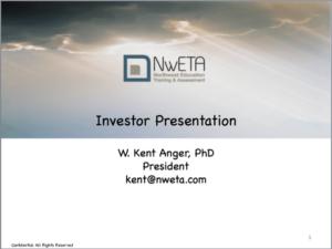 Investor Presentation Page 1
