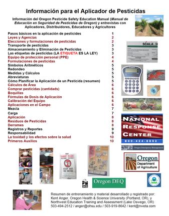 pesticide applicator information booklet english spanish nweta rh nweta com Pesticide Safety Eqipment Pesticide Safety Signs